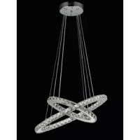 This chandelier is featured with bubble-free, high clarity, low-dispersal properties, and refractive index makes it a great choice for inclusion in high-quality light fixtures.