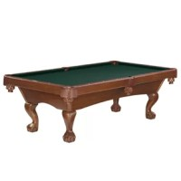 Brunswick Glen Oaks Billiards 8.3' Slate Pool Table connecting generations through superior craftsmanship and innovation since 1845. Backed by a lifetime warranty and supported by the largest dealer network in the business. With its graceful lines, the Glen Oaks Billiards 8.3' Slate Pool Table lends an air of refinement to any room. This traditionally styled Glen Oaks Billiards 8.3' Slate Pool Table is built with quality craftsmanship, as well as superb performance and playability.