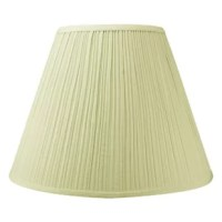 These shades feature the finest premium linen fabric. Durable upholstery-quality fabric means your new lampshade will last for decades. It won't get brittle from smoke or sunlight like less expensive fabrics. Heavy brass and steel frames means your shades can withstand abuse from kids and pets. It's a difference you can feel when you lift it.