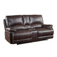 Ullery Upholstered Living Room Recliner Console Reclining Loveseat