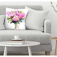 This decorative pillow is designed by Suren Nersisyan for this exclusive collection of decorative throw pillows and accent cushions.