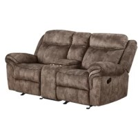 The loveseat fuses charm and design to create the ultimate in relaxation. This motion loveseat will perfectly accommodate any contemporary living room setting by providing plush and stable support and spacious storage function. Fine upholstering and a reinvented modern style, enhance your living room area with this unique set.