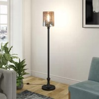 Bring a boost of ambient lighting into your living room or entryway with this classy 69