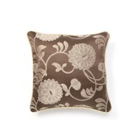 Add an air of elegance with this Decorative Cushion Cover. It is best suited for a traditional home decor. This Decorative Cushion Cover is made of 100% polyester, which ensures durability. It is available in multiple colors. The cushion cover is made of synthetic. It features a stunning embroidered damask pattern. It has a beautiful braided cording which adds a finishing touch. It has a lovely velvety texture which gives it a luxurious feel. You can showcase it on your couch, bed, or sofa. It...