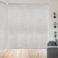 The Adjustable Sliding Panels are perfect for French doors, patio door, balcony door, closet door, and any large windows. This is also a smart choice for the room divider, which can keep a room private and stylish.