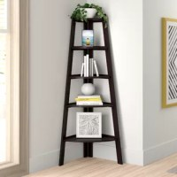 Take advantage of every corner of your abode with this bookcase, perfect for small apartments and studio lofts. Standing 63