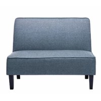 This loveseat is suitable for bedroom, living room, or as a dining bench of home, resturant or cafe