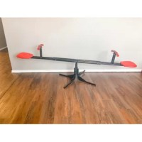 Gener 8 Teeter Totter, moves up and down, 360° rotation with soft grip handles.