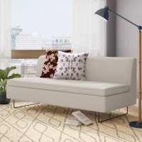 Low-profile and un-armed, the Clyde armless sofa steals the spotlight with charm. Pair the Bonnie and Clyde together for a sectional that really works a room. Solid hardwood and plywood frame, Pebble: 100% poly upholstery; Coal: 50% Cotton / 50% Polyester blend upholstery.