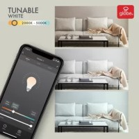 Useful to everyone, smart bulbs are the perfect start to home automation. If you can screw in a bulb you can set up smart lights. Using Globe Electric smart bulbs and the Globe Suite™ App, make your lights work for you. Seem like you're home when you're not by having lights come on at different times in different rooms. Turn on your lights before you get home from work so you have a light to arrive home with. Plus, the tunable white feature is great for your health by allowing you to have...