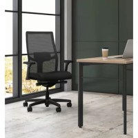 Taking care of business has never been easier or more pleasurable than when you're sitting in this HON Ignition Ergonomic Mesh Task Chair with Adjustable Arms and Adjustable Lumbar Support, in Black. The seat back features breathable 4-way stretch mesh that cradles the spine for ergonomic comfort. This office chair features a contoured seat cushion that gives workstation warriors the all-day comfort they need. The advanced synchro-tilt control mechanism is the best HON has to offer and reclines...