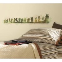 Celebrate The Hobbit: An Unexpected Journey with these inspiring wall decals. This wall graphic combines all the characters from the film with a quote from Thorin Oakenshield that reads
