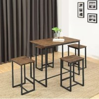 Delmar 5 Piece Dining Set