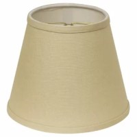 If you love variety, this lamp shade is perfect for you. There are so many color and fabric choices you can pick a different one for every room. This contemporary design, featuring layered trim on the top and bottom, is an excellent complement to all your existing home furnishings.