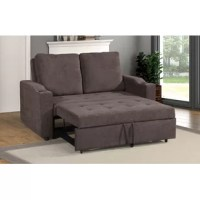 This convertible sofa has two elements in one. It serves as the perfect furniture for you to have a sofa to relax during the day and a bed during the night.