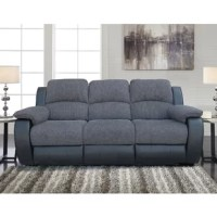 This sofa is the NEW design of Lifestyle Solutions' Studio Living for specific living room needs. Chenille fabric and black bonded leather and cushions padded with thick foam for an elegant appearance and extra comfort, modern style and comfort to any living room.