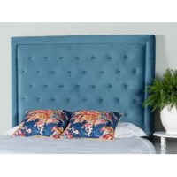 Your restful retreat plays two very important roles in your home: whisking you off toward dreamland each night and providing an eye-catching focal point to your guest bedroom or master suite ensemble. Refresh your teen's sleep scape with this stylish panel headboard! Crafted from a blend of solid and manufactured wood, its frame features a polyester blend upholstery and boasts a neutral finish. It strikes a clean-lined silhouette and showcases button-tufted accents for added style.