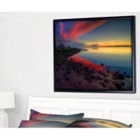 This beautiful canvas art is printed using the highest quality fade resistant ink on canvas.