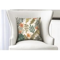 Add a touch of flair to your living space with this decorative throw pillow.