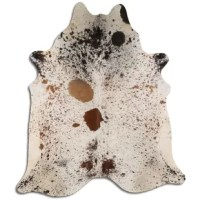 The real cowhide can be used for many things in home décor and everyday life. The hair on hiding cowhide can be made into cowhide rug, cowhide chair, cowhide ottoman, cowhide pillows, cowhide purse, cowhide accent chair, cowhide fabric, cowhide stool, cowhide bench, cowhide barstools and whatever your imagination takes you to create. Hides are handmade and made to be last. This cowhide is ready to be cowhide rug. Just open the bag and place in your living area and enjoy the masterpiece. No...