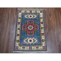 This area rug features the well known classical southwestern designs. The tribal motifs are very popular down in the south and especially out west.