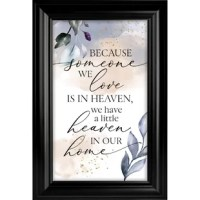 Looking for a classy decoration that can be placed in many ways? This plaque frame is the perfect choice for your home and office décor. With wide easel on the back that will not slide and stays in place or use the metal hook for hanging on your wall. It is handcrafted to ensure that you are receiving the quality you deserve at an affordable price.