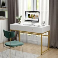 The sleek look and high-functional design make this Hansel Reversible Desk the perfect addition to any home office, dorm room, or bootstrapped start-up. Make your work area the ultimate place for efficiency with this modern computer desk.