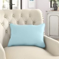 In addition to lower back support, lumbar pillows offer a an eye-catching way to anchor colors and play with proportions. Take this one, for example: crafted in the USA from a polyester cover with a polyfill insert, this lumbar pillow is an ideal addition to any seating group or entertainment space. Available in a variety of colors, it's sure to fit into your palette, while its weather-resistant materials lets you use it spaces inside and out.