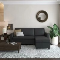 This sleeper sectional showcases the versatility that today
