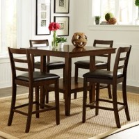 Gosselin Contemporary 5 Piece Dining Set