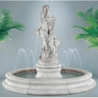 The Venus with Dolphins in Toscana Pool Fountain is a beautiful and enchanting addition to make for your very own oasis in the privacy of your patio, backyard, or garden.