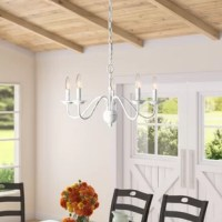 Seiling 5 - Light Candle Style Classic / Traditional Chandelier