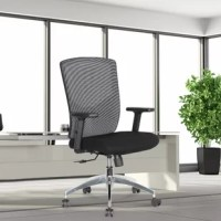 Combining sleek elegance and ergonomic design makes this chair ideal for the office and home office for all age groups. The multi-function features facilitate more comfort. The multi-function mechanism fully equipped with functions of height-adjustable, tilt lock, tilt tension, etc.The base is made of polished aluminum alloy with resilient castors for mobility. Seat upholstered with thick fire retardant padded foam.