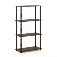 Bring an open aspect to any room in your home with this etagere, a clean-lined piece designed to blend in with a variety of ensembles. Crafted from manufactured wood, its airy frame is fitted with three shelves to make plenty of room for staging decorative accents, organizing books, or even keeping your favorite spirits at the ready in the home bar.