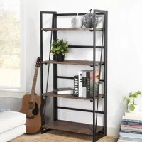 The Bookcase helps you organize your priceless book collection with style and ease. This bookcase provides ample space to store and organize your favorite books, journals and other important documents, as well as decorative items to enliven your room. Featuring a minimalistic design, this wood bookcase helps you declutter your space and effortlessly blends with a variety of decor styles, making it a perfect piece to tie together your living room, office and more.