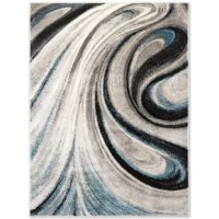 Liven up your home décor with the Boho Odette rug collection by Home Dynamix. The abstract swirl design of the Boho Odette collection will make a statement in your decor.  With a striking color palette, this area rug will bring a warm welcoming atmosphere into any room. Crafted with 100% polypropylene, this durable rug is ideal for high traffic areas. The loop pile construction of the polypropylene yarns provides a soft texture that feels cozy underfoot. Stain and fade resistant, this area rug...