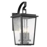 This outdoor wall light truly welcomes any homeowner and visitor alike.