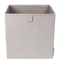 A functional and versatile storage solution, the cube offers a wide variety of storage possibilities from the office to the living room to the closet. It made from polyester and paperboard. It's ideal for storing toys, magazines, throws them on a bookshelf or in the closet. It ships flat and can be quickly folded flat for storage when not in use.