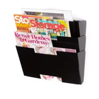 With just one click, you will receive this 3-sectional metal file organizer to tidy up your office. You can run a better home business or keep your office organized. This document sorter or magazine rack is perfect for doctor's offices, small businesses, corporate businesses, etc. The 3-sectional metal file folders can be used as a hanging magazine rack for people who love reading and collecting them. Get your magazines out of storage and put it where you can see to keep yourself and guests...