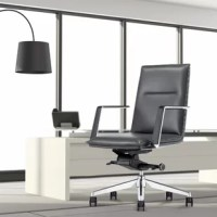 Combining sleek elegance and ergonomic design makes this chair ideal for the office and home office for all age group. The multi-function features facilitate more comfort. The mechanism, armrests come as a complete piece from the branded Italian manufacturer. You can easily adjust the chair's height with the gas lift, and the base is made of polished aluminum alloy with resilient castors for mobility. Thick fire-retardant padded foam and upholstered in premium bonded leather.