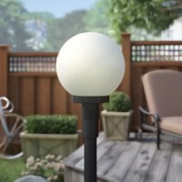This 1 Light Outdoor Post Lantern illuminates your garden or backyard with soft light. The frosted plastic shade of this lantern head spreads soft light evenly. This lantern head is available in different sizes. This lantern head is made from high-quality plastic materials, and this lets it offer long service. This 1 Light Outdoor Post Lantern complies with the strict norms of California's Title 24. This outdoor post is UL- and cUL- listed, which makes it safe to install and use in...