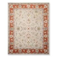 This is a beautiful Olivas Hand-Tufted Wool Orange/Beige/Gray Area Rug. Its elegant style is easy to decorate with and perfect for living room, dining room, bedroom or anywhere in the residence or office