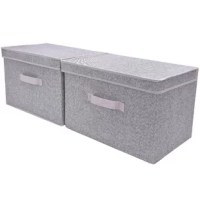 This box is foldable, save space when don't use them. It is perfect for your space.