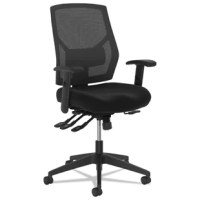 This Crio Ergonomic Mesh Office Chair is designed for high performance. The asynchronous control allows you to find whatever posture or reclining position that suits you while a breathable mesh back cradles you in cool comfort.