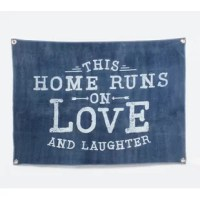 Hang this tapestry in the kitchen, living room, or dining room to remind everyone of the importance of family, love, and laughter.