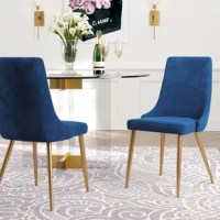 Whether your intentions are to place it in a guest room for a pop of color and a comfortable respite for road-weary visitors or to situate it in the dining room around the table, this is a chair that is built to exude comfort and elegance. The abundantly soft cushions are adorned with elegant fabrics that are as beautiful and inviting as they are conditioned to withstand regular use. The solidly sturdy base displays the skill and craftsmanship of master builders and designers and finished in a...