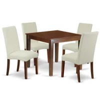 Pauls 5 Piece Solid Wood Dining Set