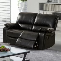 The customer is purchasing one piece of leather gel loveseat. This Barkley Reclining Loveseat brings not only the comfort but also the value to your living room. Well designed style, upgraded materials, all the benefit of leather but not the disadvantage, full size, you get everything you need for your living room. With the two recliners, you are going to create a cozy environment for your family.
