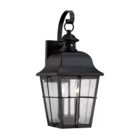 It's hard to beat the feeling of coming home after a long day or a weekend away. Make that moment even sweeter by boosting the brightness on your porch or patio with this outdoor wall lantern.