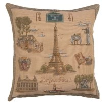 This pillow makes a statement. Your most desirable and fashion-forward pillow for your home decor is here.